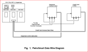fuel controls and point of systems triangle microsystems petrosmart connections to the fuel dispenser