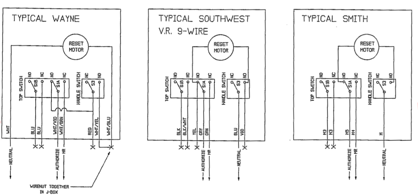 typdiagram2 fuel controls and point of sale systems triangle microsystems 115 Volt Motor Wiring Diagram at bayanpartner.co